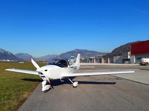Fuelstop @LIDT with D-MFBX Tecnam P-2002 Sierra from LIAU to EDFM