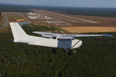 KECP Left Base 34 Formation Cessna 172 Panama City FL Airport