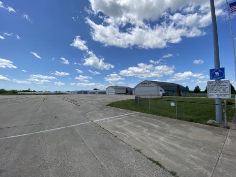 Dixon IL airport summer 2020 ramp