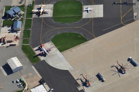 Air Attack Base @ the San Bernardino Intl. Airport, CA - USA