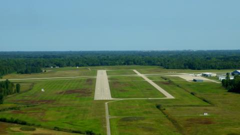 St. Clair County Airport (PHN) - 4 Final Approach - 2017-09-10