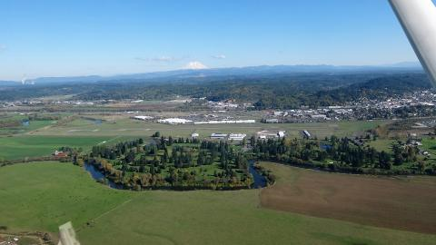 Chehalis Centralia Airport CLS looking East