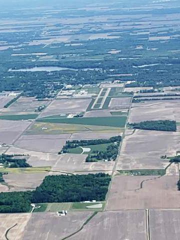 Centralia Municipal Airport KENL, from S/SE (taken by Kathy Heckler)