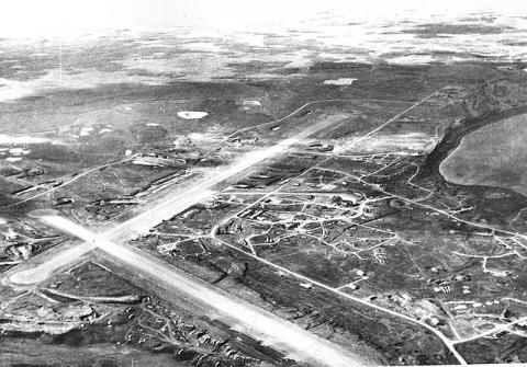 CDB as Fort Randall Airfield 1942