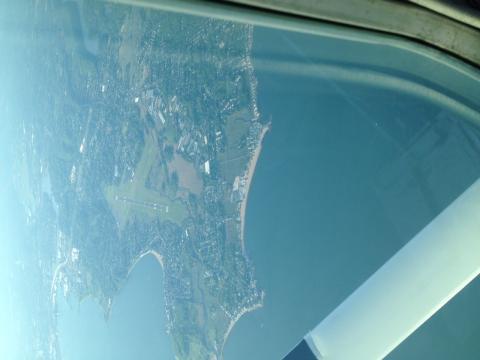 KHVN Tweed New Haven airport from 3500MSL
