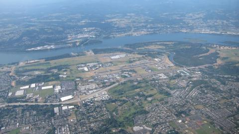 TTD - Portland-Troutdale Airport South side 5500ft