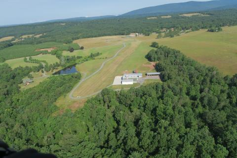 Timber Ridge (VA46) looking West