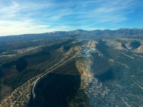 Los Alamos Aerodrome (KLAM) New Mexico