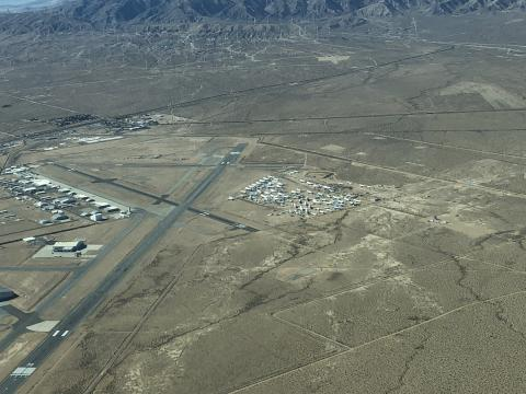Runways at Mojave Air and Space Port Airport
