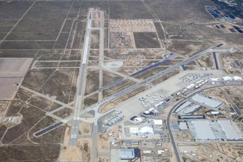 Victorville Airport Aerial Photo