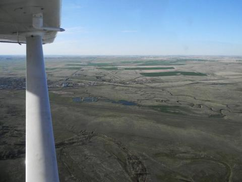 Limon Airport is just north of I-70 by US-24, east of town.