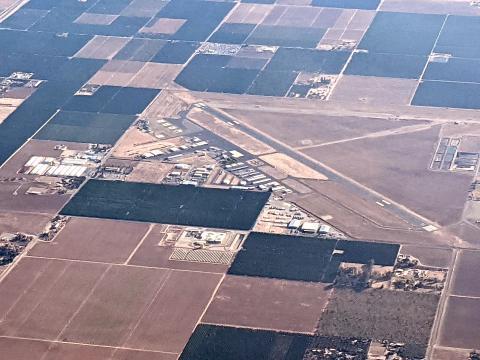 Porterville Municipal Airport KPTV