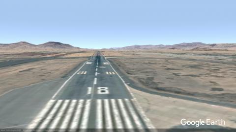 OYSN runway 18