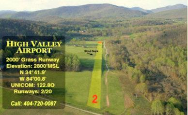 GA87 Kennedy Creek Resort-High Valley Airport