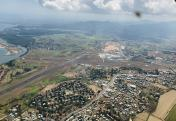 Nadi Airport aerial view