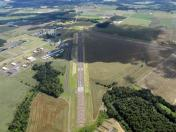 McMinnville Airport next to Evergreen Aviation & Space Museum