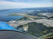 Quonset airport from 2,500 feet