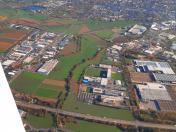 Bruchsal-EDTC(GER)-from the air