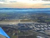 Aerial View Stuttgart EDDS Apron&Terminals (GER)