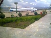 MD 83   in khorramabad airport