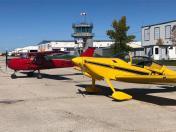 Mu RV6 and my old C150 at CYGM