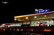 LUKK - Chisinau Airport at night