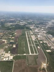 KFWS - Fort Worth Spinks Airport - North Side