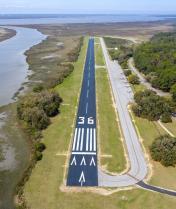 Jekyll Island, Airport, 09J, runway