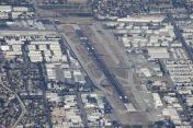 Aerial image of Van Nuys Airport, KNVY