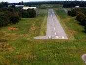 Runway 10 short final N94