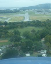 CXY - Capital City Airport runway 12