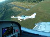 Koninklijke Aeroclub Brasschaat PS-28 Cruisers over Brasschaat Airfield